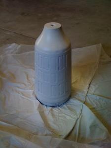 Painted Ceramic Base