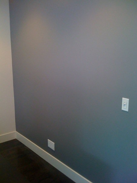 Light Grey Wall Paint 453 x 604