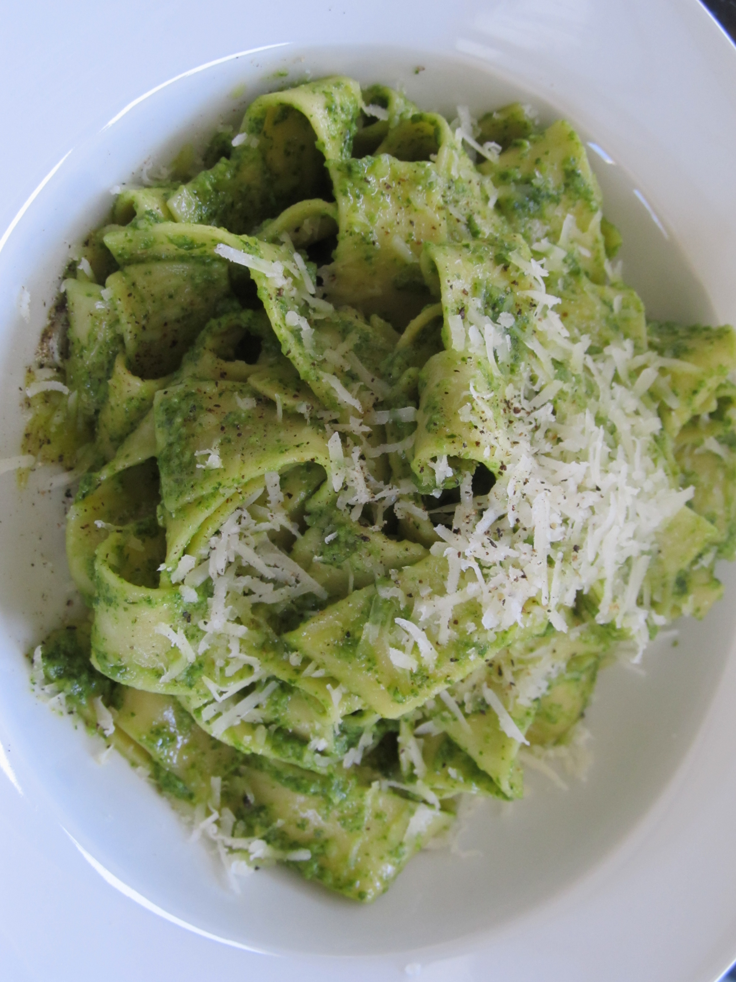 Easy Peasy Recipe: Arugula Pesto | Courtney Out Loud