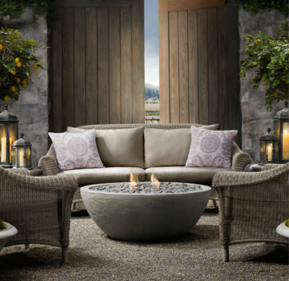 Restoration Hardware Fire Bowl