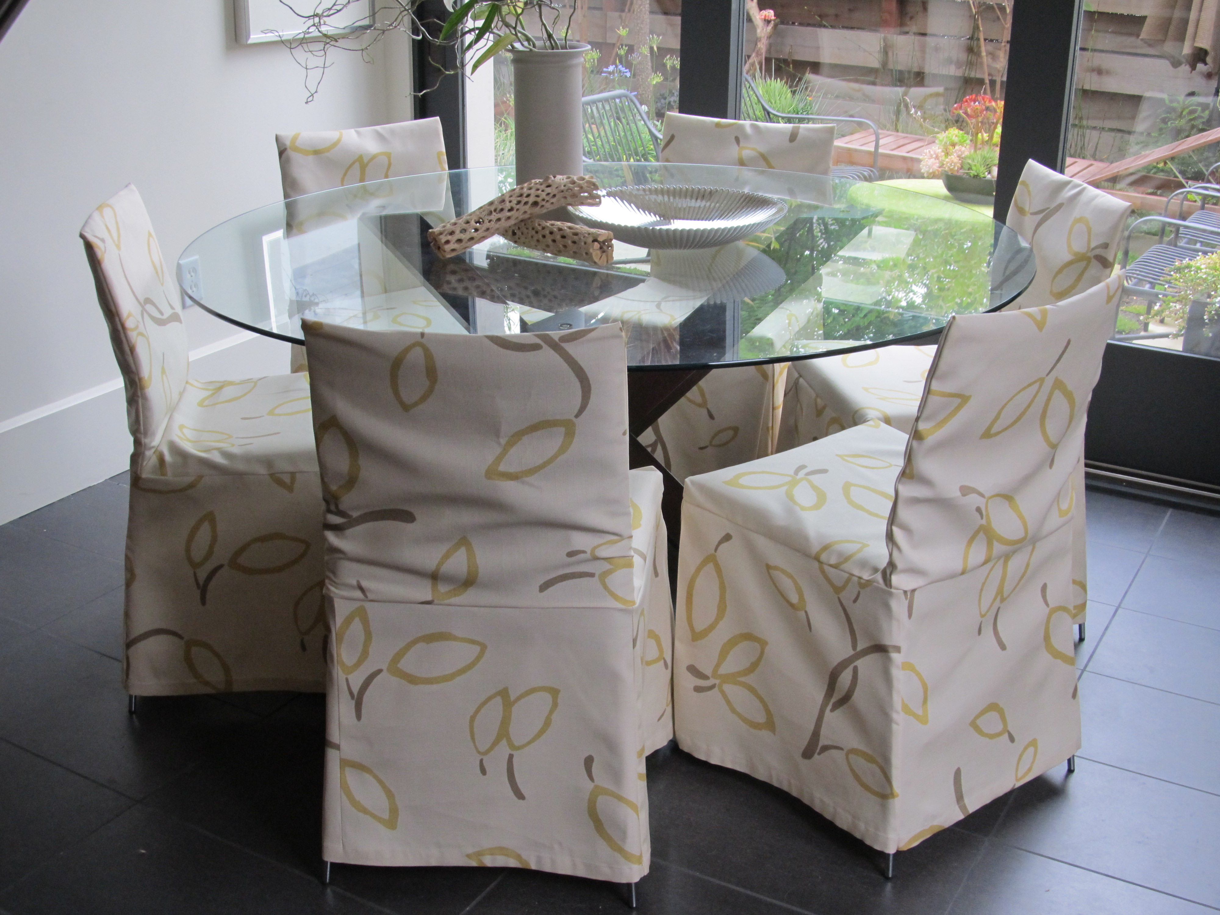 Dining Chair Slip Cover Pattern Chair Pads Amp Cushions