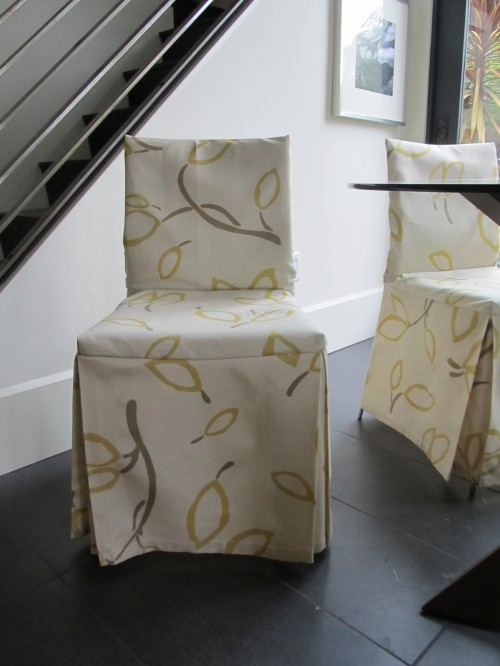 To make dining chair slip covers chair pads cushions for Custom dining room chair cushions