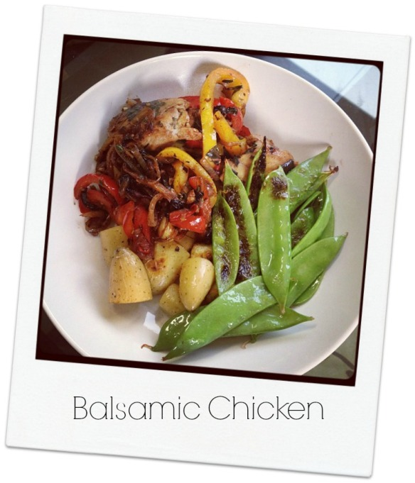 Balsamic Chicken polaroid