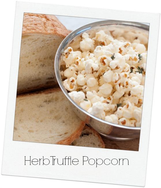 Herbed Popcorn Polaroid
