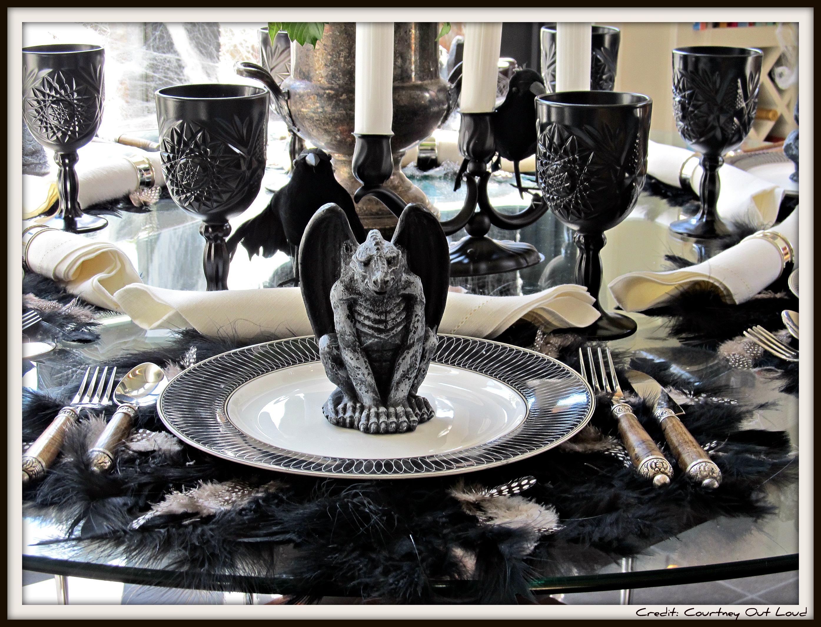 Vignette Week: Halloween Tablescape…. | Courtney Out Loud