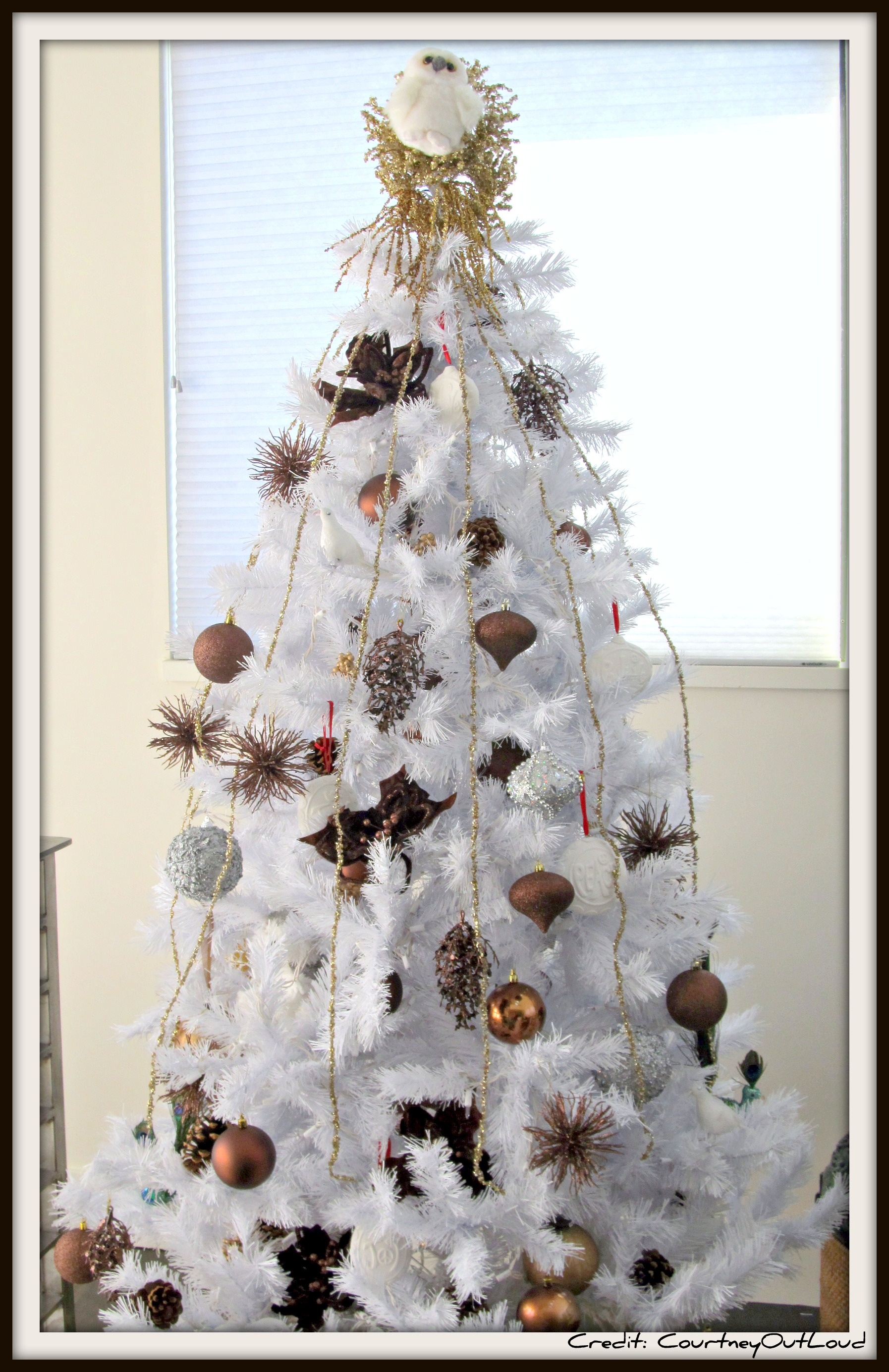 My Christmas Tree…….   Courtney Out Loud