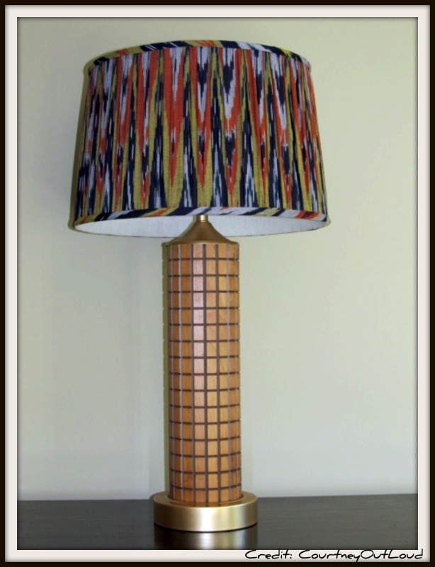 build wood lamp