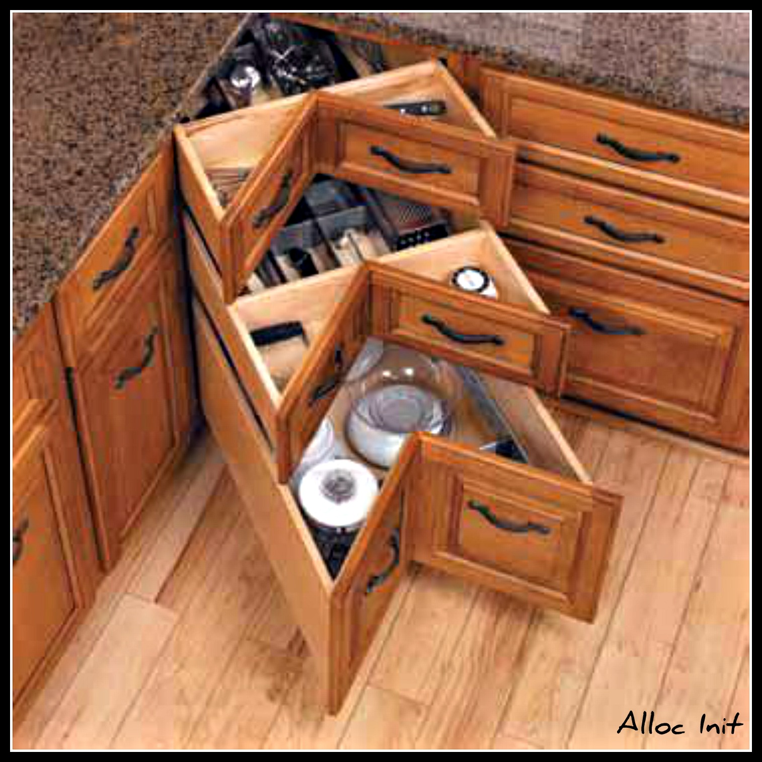 Build corner kitchen cabinet plans diy wooden rocking for Corner kitchen cabinet
