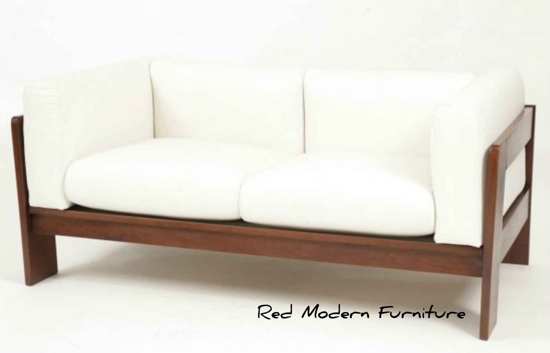 Leather sofa courtney out loud for Wooden furniture design