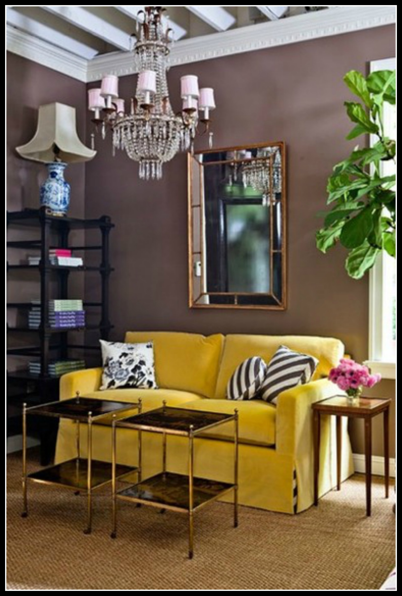okay - Yellow Couch