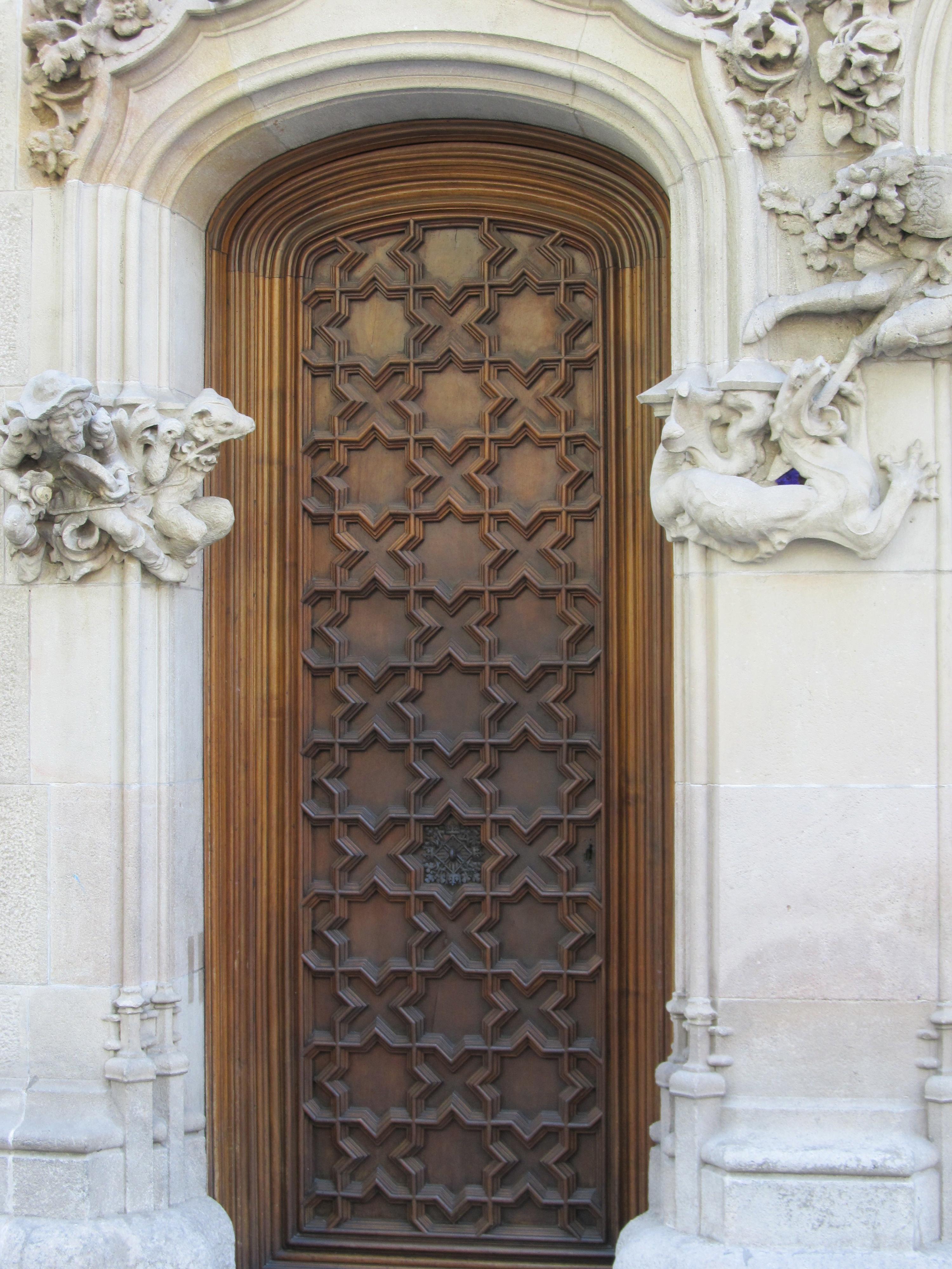Spanish doors courtney out loud for Door in spanish