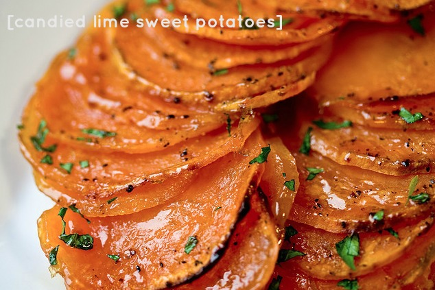 Recipe: Candied Lime Sweet Potatoes | Courtney Out Loud