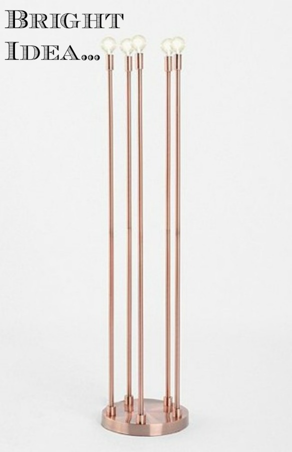 Urban Outfitters Copper  Floor Lamp