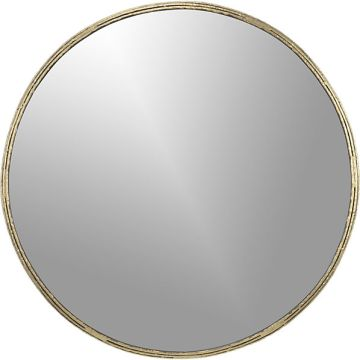 tork-brass-dripping-mirror cb2