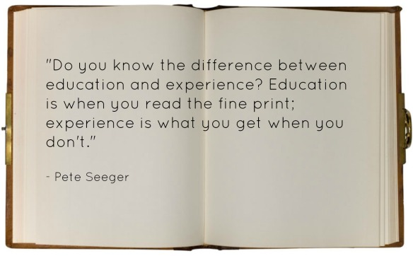 Pete Seeger Experience Quote
