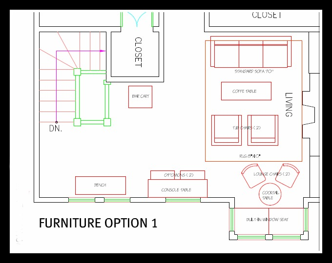 Furniture Space Planning Home Design