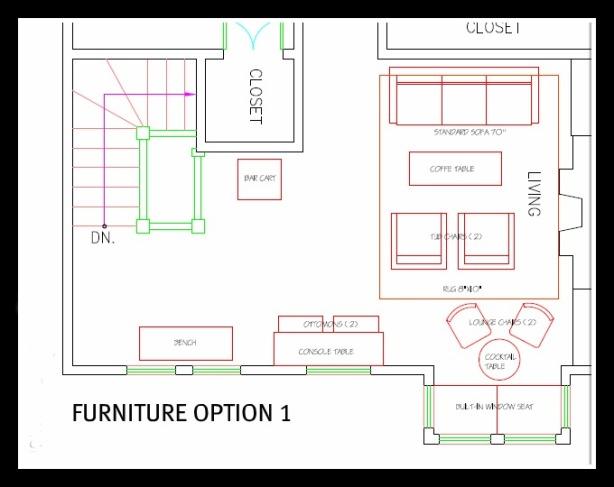 furniture arrangement plans