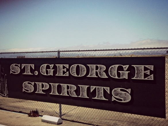 St. George Spirits Sign