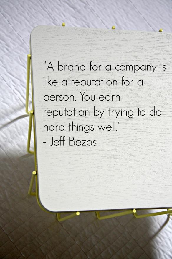 Jeff Bezos BRand Quote