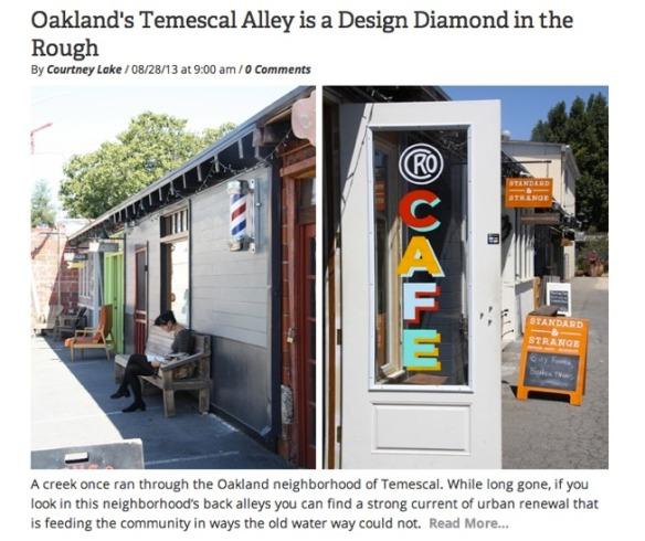 Temescal Alley Shot
