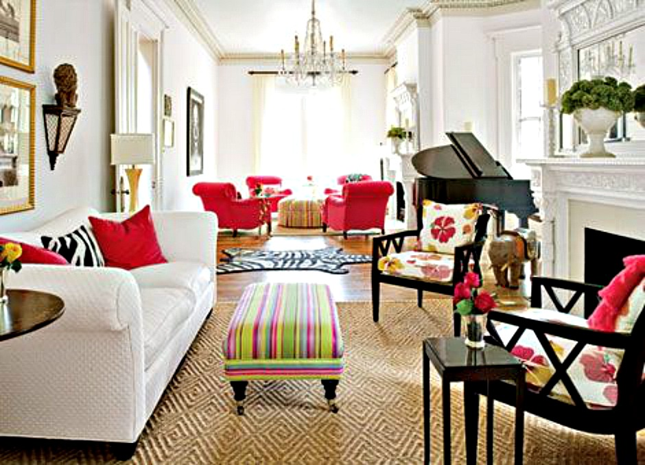 Breathing room long living room courtney out loud for Magazine living room ideas