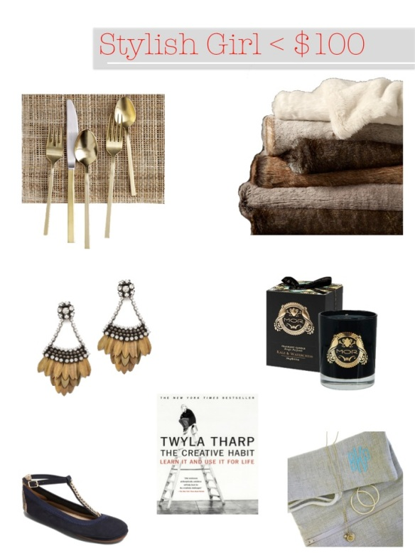 Stylish Girl Gift Guide by Courtney Out Loud