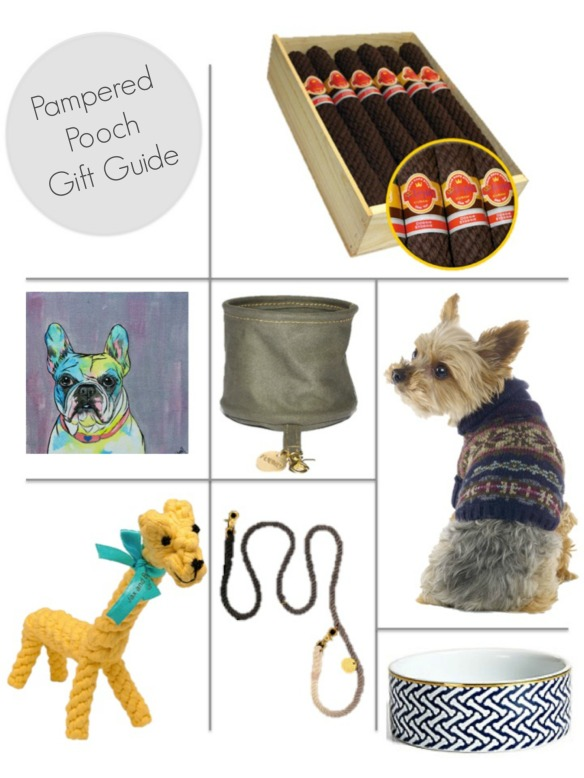 pampered pooch gift guide